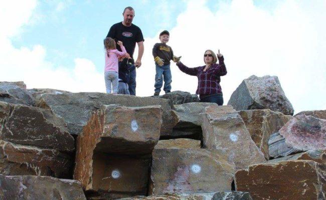 Last Climb on the Bluff Wall